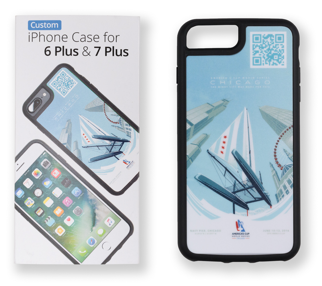 Custom Case iPhone 6 Plus & 7 Plus with custom packaging
